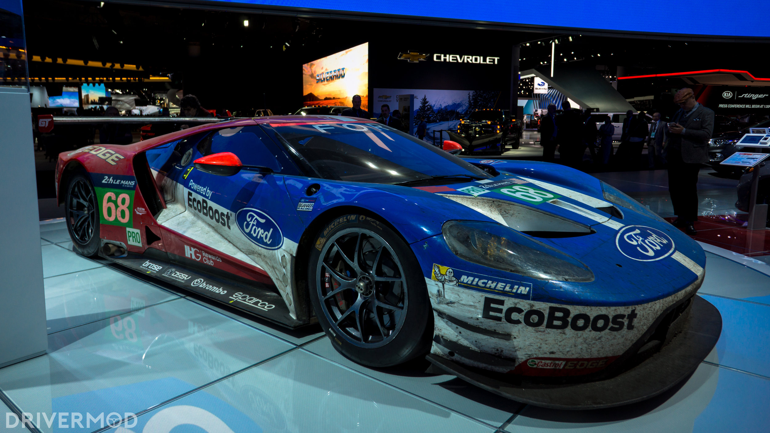 Lets Take A Moment To Appreciate What Were Looking At This Is The Number  Ford Gt Gte The Car That Crossed The Finish Line At The Front Of The Pack At