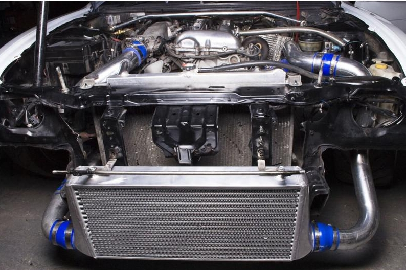 Intercooler setup (Source)