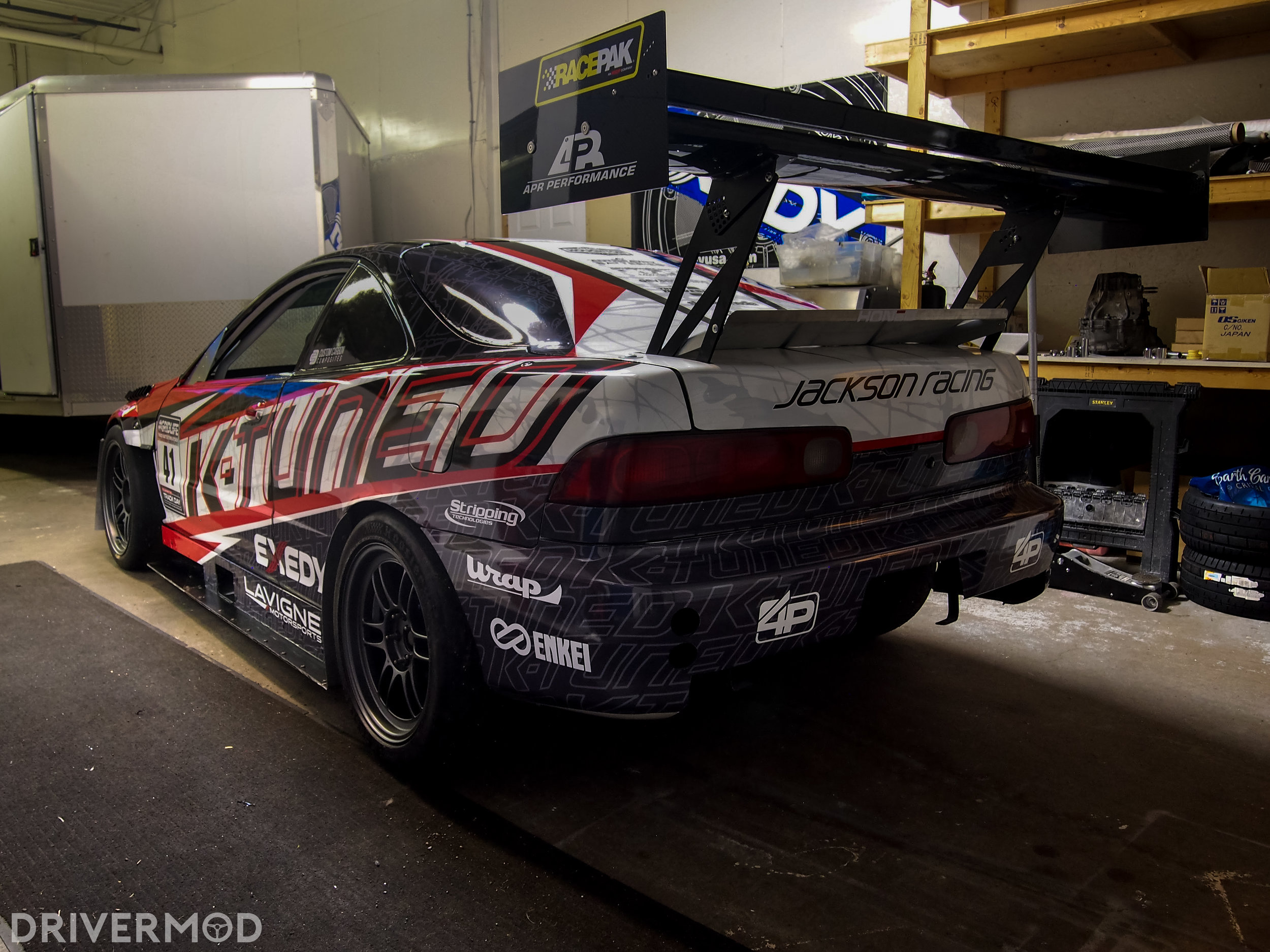 How to Build a Batshit-Crazy Fast Integra Type R – DriverMod