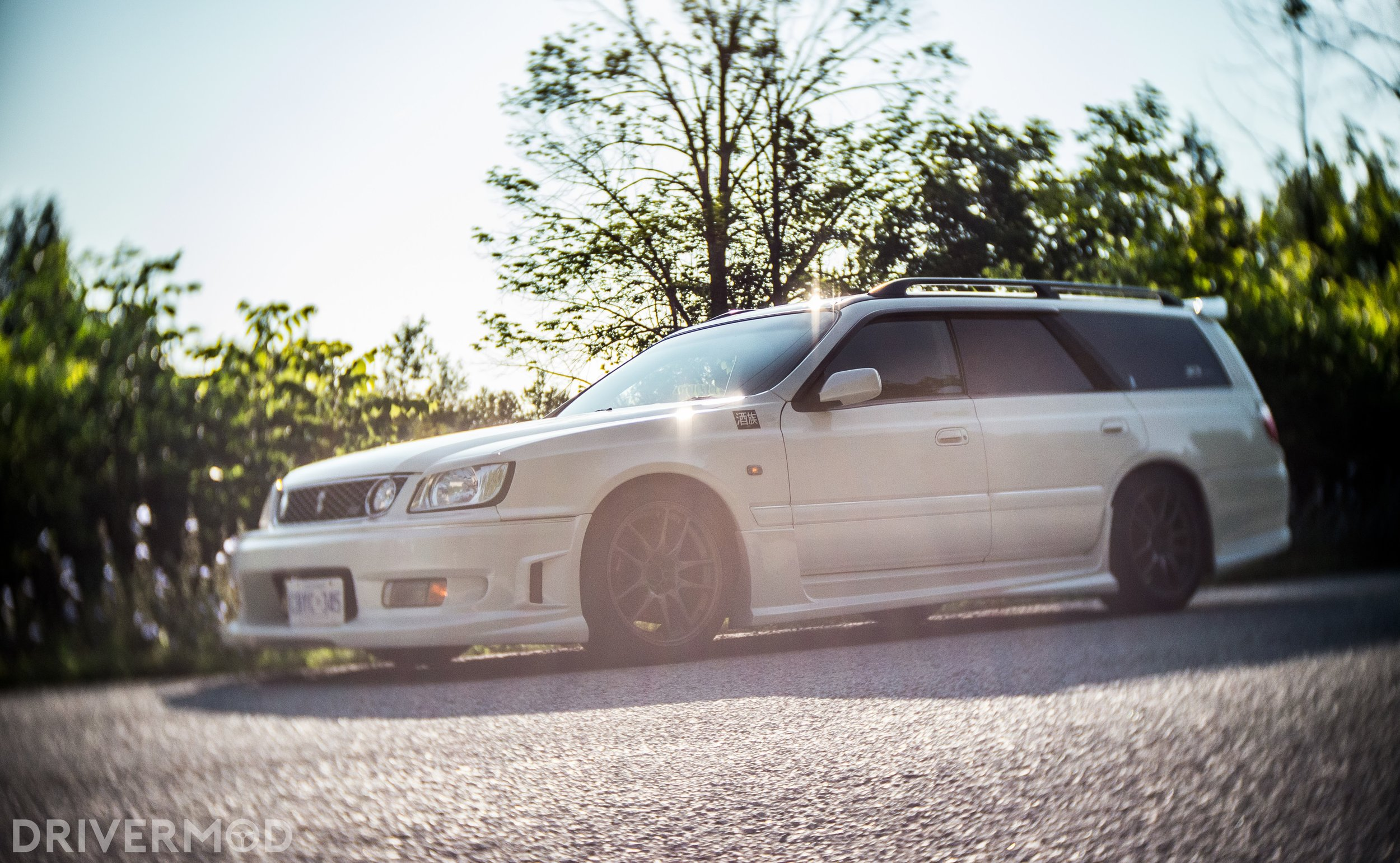 The Nissan Stagea